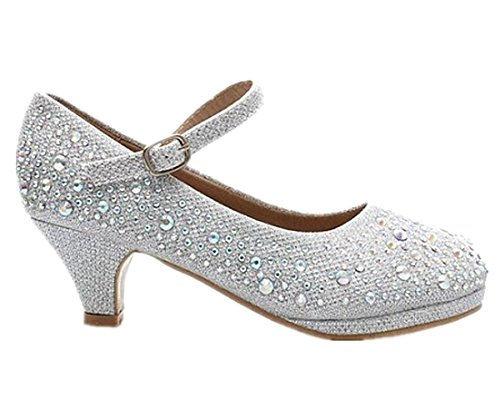forever-link-new-girls-youth-cute-pageant-jewel-rhine-stone-mary-jane-high-heel-dress-shoes-4-silver