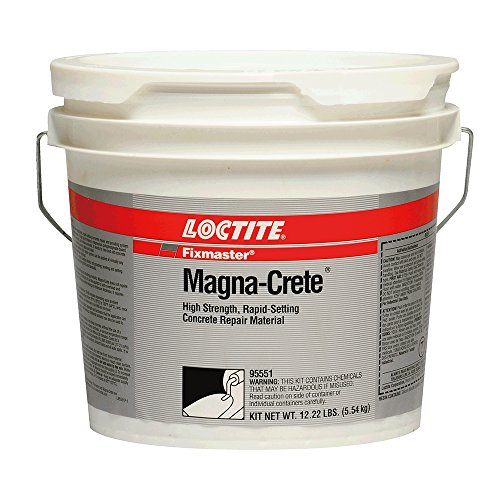 Loctite 95551 Magna-Crete Concrete Repair, 1 gallon Kit, Gray