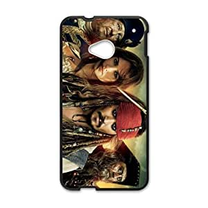 Happy Pirates of the Caribbean Design Personalized Fashion High Quality Phone Case For HTC M7