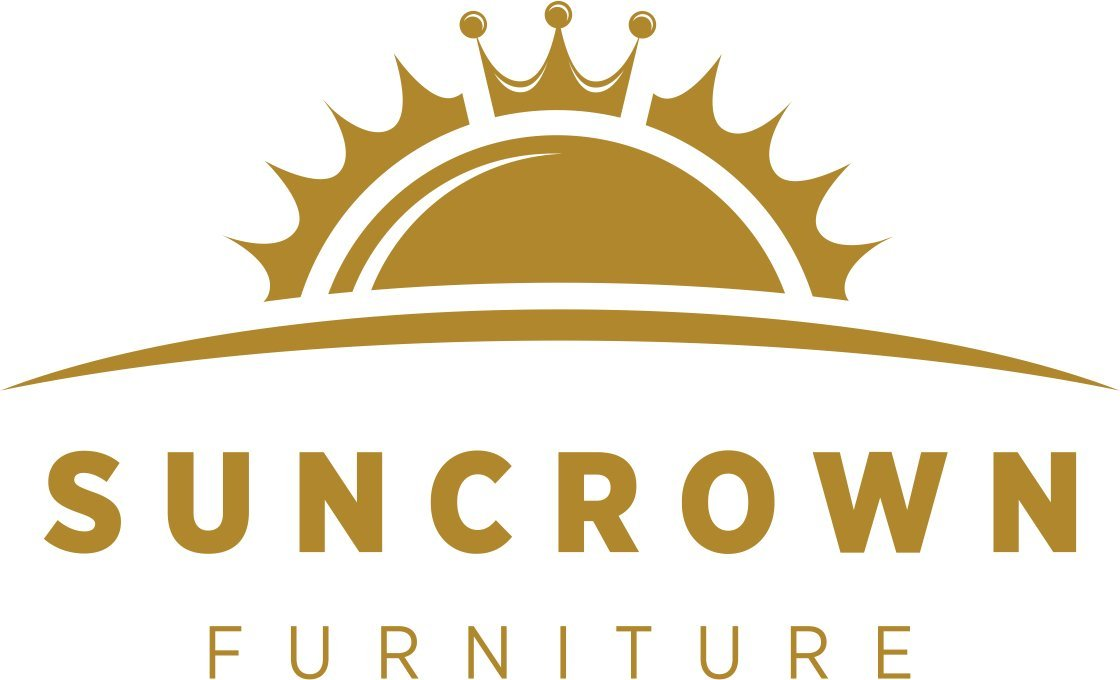 Suncrown Outdoor Furniture Grey Wicker Conversation Set with Glass Top Table (4-Piece Set) All-Weather | Thick, Durable Cushions with Washable Covers | Porch, Backyard, Pool or Garden by Suncrown (Image #7)
