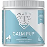 Calming Treats for Dogs - Hemp Oil Infused Soft Chews for Dog Anxiety Support - Formulated with Organic Chamomile, Passion Flower, Valerian Root, Tryptophan and Ginger Root - 120 Dog Calming Treats