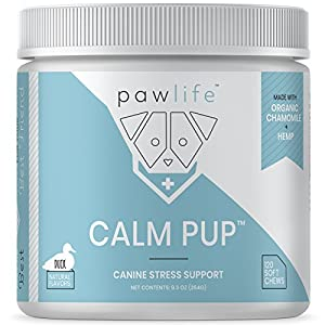 1. Pawlife – Hemp Oil-Infused Soft Chews for Dog Anxiety Support