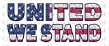 1/2 Sheet - United We Stand America 4th of July - Edible Cake/Cupcake Party Topper
