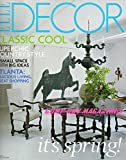 Elle Decor Magazine May 2008: Classic Cool; Superchic Country Style