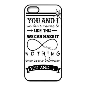 Danny Store 2015 New Arrival TPU Rubber Coated Phone Case Cover for iPhone 5 / 5S - One Direction
