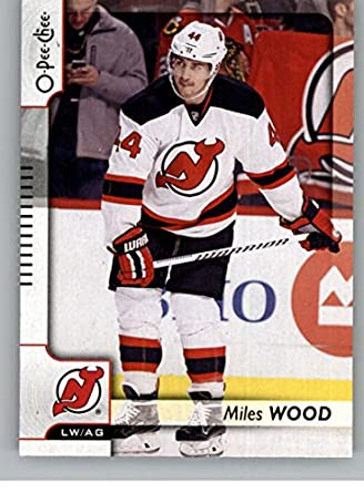 2eafda4c8 Amazon.com  2017-18 O-Pee-Chee  411 Miles Wood New Jersey Devils ...