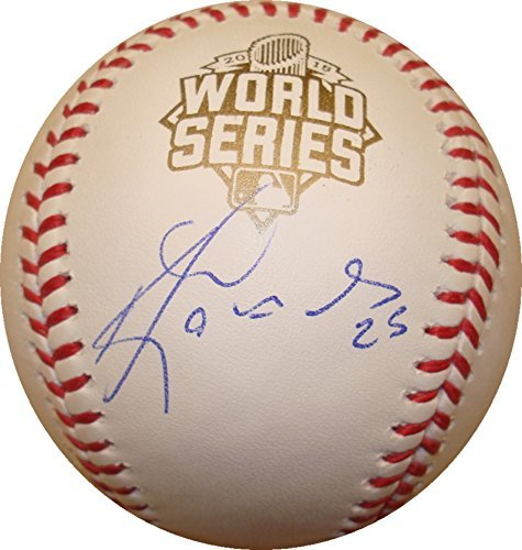 Kendrys Morales Hand Signed / Autographed Official 2015 World Series Major Le... by VIP Memorabilia
