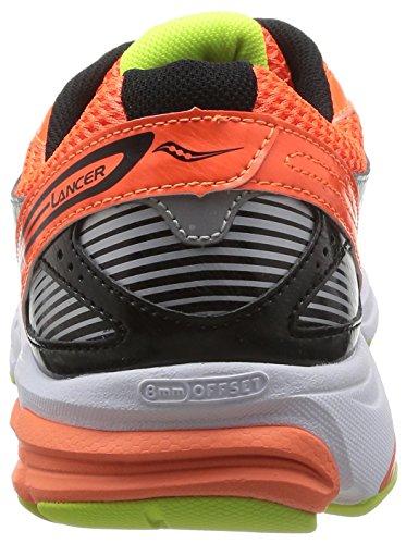 Saucony Lancer - Zapatos Hombre Viziorange/Black