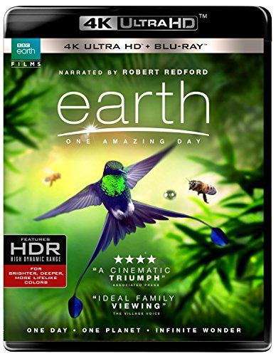 4K Blu-ray : Earth: One Amazing Day (With Blu-Ray, 4K Mastering, 2 Pack, Digital Copy, 2 Disc)