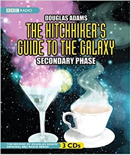the hitchhiker 39 s guide to the galaxy secondary phase original bbc radio series douglas adams. Black Bedroom Furniture Sets. Home Design Ideas