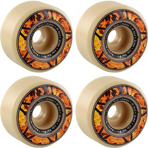 人工促進するドレスSpitfire Wheels Formula Four Radial Hellfireスケートボードホイール – 56 mm 99 a (Set of 4 )