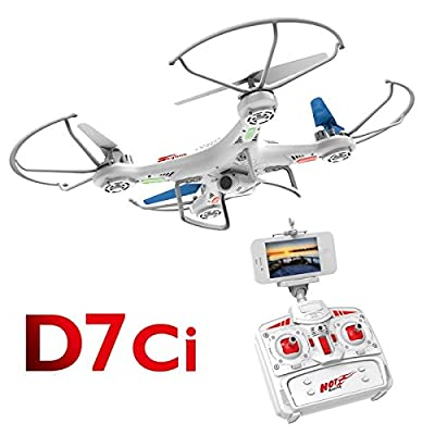 D7ci Drone 2.4g Wifi Live Transmission R/c Drone With Light And Camera by DIYI Model