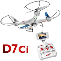 D7CI DRONE 2.4G WIFI LIVE TRANSMISSION R/C DRONE WITH LIGHT AND CAMERA