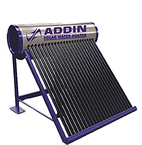 ADDIN POWER LIMITED 150 LDP Galvanize 2.5 MM Thick Tank and 58 Vaccume Tube Water Heater ETC Type