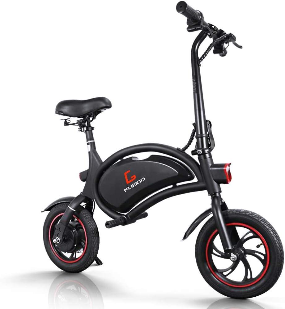 urbetter Bicicleta Electrica Plegable, Ruedas de 12