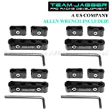 jdm spark plug wires - For Chevy Only! 12Pc Jdm Style Anodize Aluminum Spark Plug Wire Separators Black