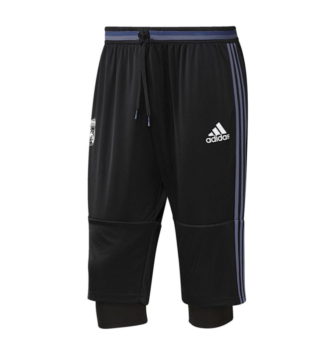 2016-2017 Real Madrid YOUTH three quarter pants (Medium)