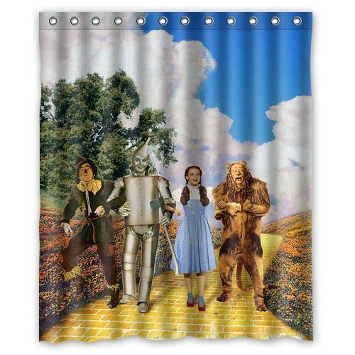 Rrfwq Wizard of Oz Shower Curtain 60 x 72X72IN