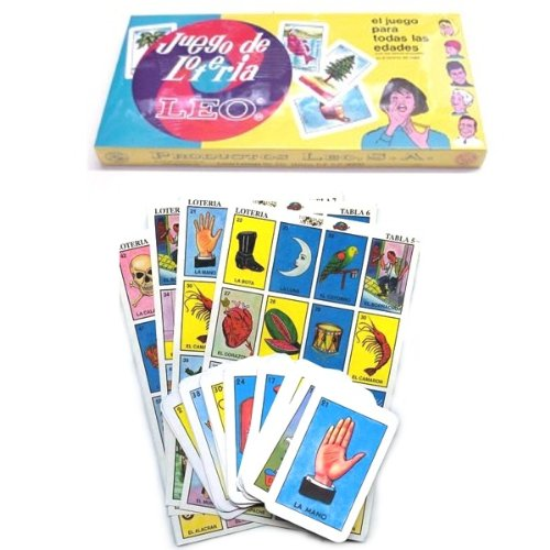 Loteria Leo Box Set Game 10 Tablas