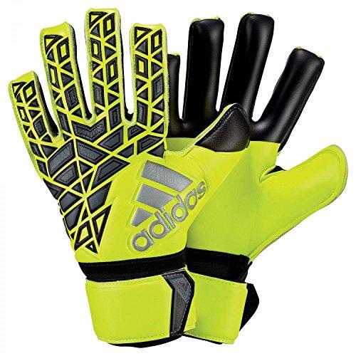 adidas Erwachsene Ace League Torwarthandschuhe, Solar Yellow/Black/Onix, 8