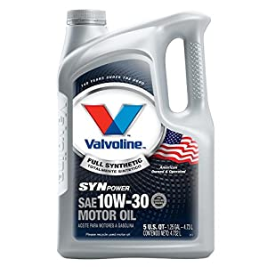 Valvoline 10W-30 SynPower Full Synthetic Motor Oil - 5qt (787002)