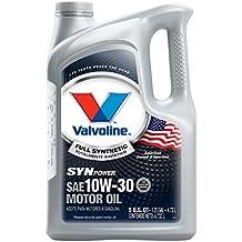 Valvoline 10W-30 SynPower Full Synthetic Motor Oil - 5qt (787002)