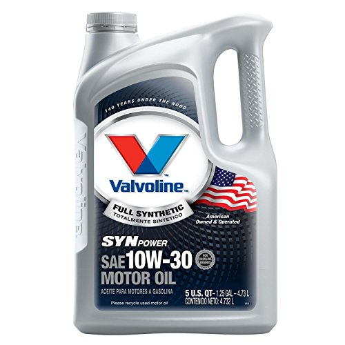 Valvoline SynPower 10W-30 Full Synthetic Motor Oil - 5qt (787002)