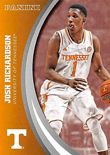 Josh Richardson basketball card (Tennessee Volunteers) 2016 Panini Team Collection #39