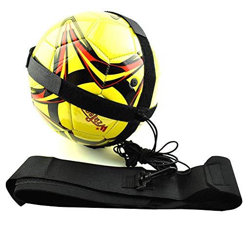 (HYRL Soccer Kick Trainer Waist Belt Football Kick Trainer Elastic Strap Adjustable Kids Football Training Practice Equipment Aid)