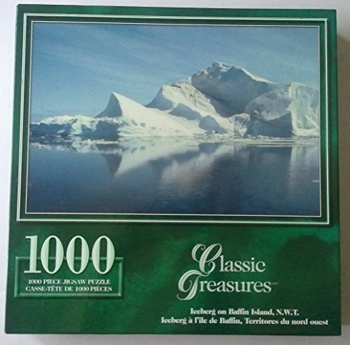 "Classic Treasures Series ""Iceberg on Baffin Island N.W.T.""; 1000 Piece Puzzle"