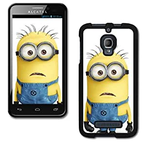 Design Collection Hard Phone Cover Case Protector For Alcatel One Touch Fierce 7024W #2647
