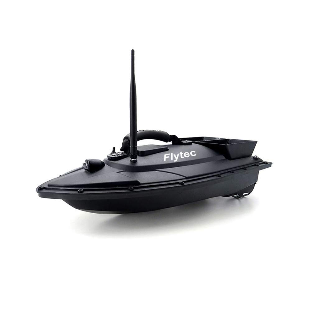 Auvem Remote Control Fishing Bait Boat, Fish Finder 1.5kg Loading 500m Fishing Tool Smart RC Boat Toy Wireless Smart Fishing Device Great Present Toy Beginners, Kids & Adults (Black) by Auvem (Image #7)