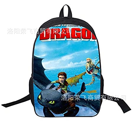Amazon.com: 16inch Mochila Infantil Students School Bags How to Train Your Dragon Backpack Toothless for Boys Kids 7 Style: Kitchen & Dining