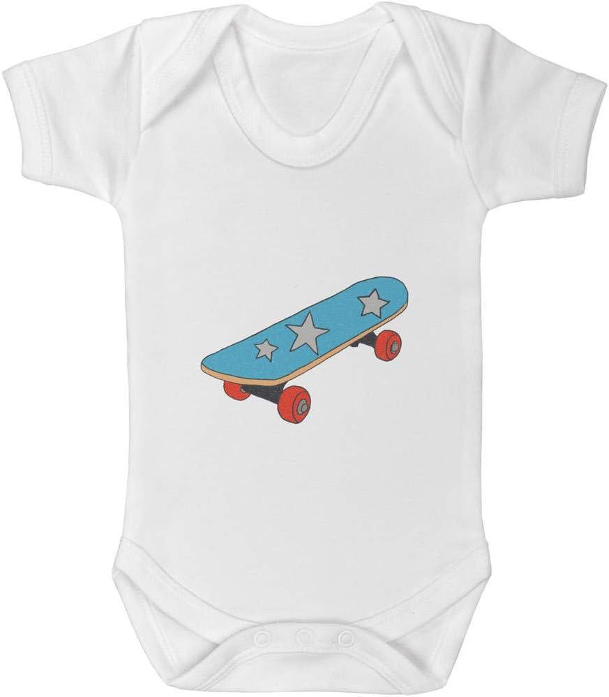 Azeeda 0-3 Month Skateboard Baby Grow Bodysuit GR00051478