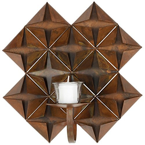 Safavieh Wall Art Collection Origami Candle Holder Wall Sconce