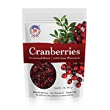 Wisconsin Cranberries by Hsu's Ginseng | Sweetened & Dried | 2lb Bag