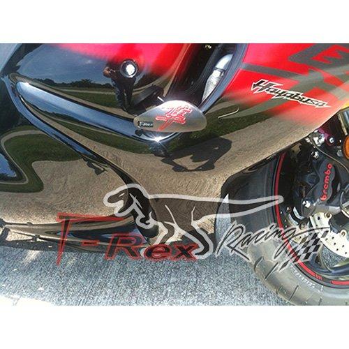 Amazon.com: 2008 - 2015 T-Rex Racing No Cut Frame Slider for Suzuki ...