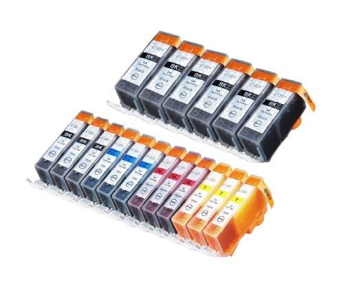 18 Pack Compatible Canon CLI 221 , CLI-221 , CLI221 , PGI 220 , PGI-220 , PGI220 6 Big Black, 3 Small Black, 3 Cyan, 3 Magenta, 3 Yellow for use with Canon PIXMA Ip3600, PIXMA Ip4600, PIXMA Ip4700, PIXMA MX860, PIXMA MX870. PIXMA Ip 3600, PIXMA Ip 4600, P