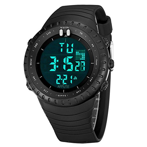Affute Digital Backlight Waterproof Wristwatch product image