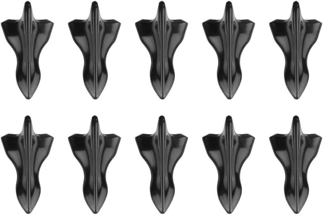 Carrosserie D/écoration de voiture R/éam/énagement des pi/èces Antenne de voiture Noir P/âte pointue Aileron de requin Toit Queue Accessoires de voiture