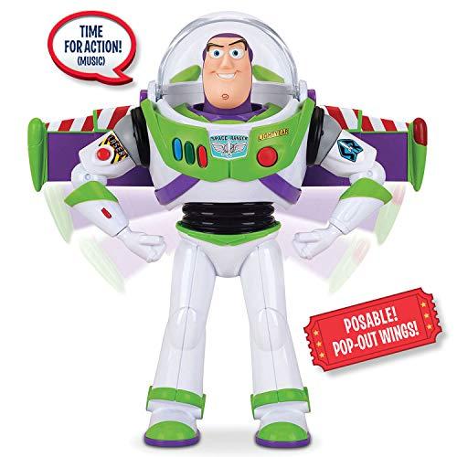 Toy Story Disney Pixar 4 Buzz Lightyear Deluxe Space Ranger Action Figure. Amazon Exclusive (Best Buzz Lightyear Action Figure)