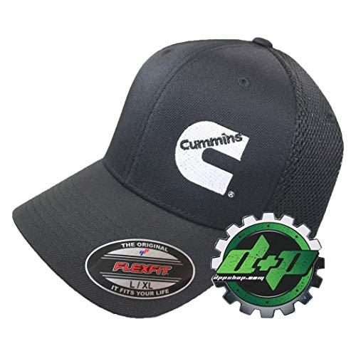 Diesel Power Plus Dodge Cummins Trucks Air mesh Hat Black Breathable Cap Fitted Flex fit L/XL