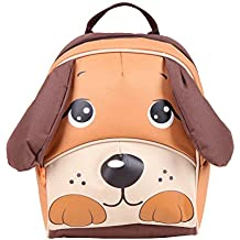 Yodo Kids Insulated Toddler Backpack with Safety Harness Leash - Playful Preschool Lunch Boxes Carry Bag, Dog