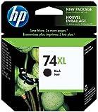 HP 74XL Black Inkjet Print Cartridge