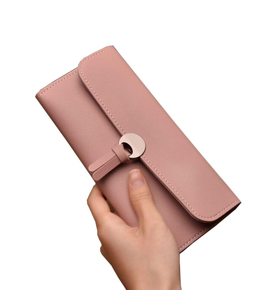 Tuesdays2 Women PU Leather Clutch Wallet Long Card Holder Case Purse Bag Handbag (Color 5)