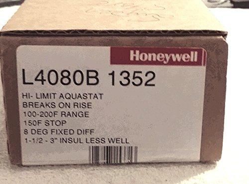 Honeywell L4080B1352 High Limit AquStat, 1