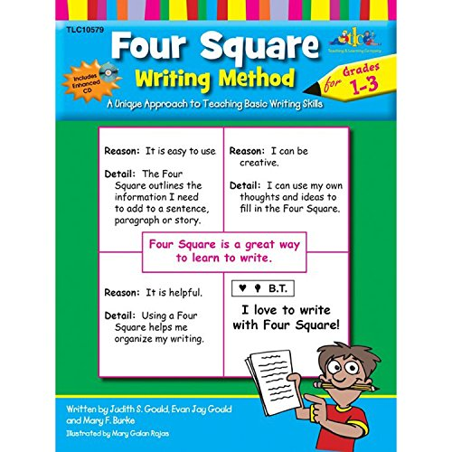 Four Square Writing Method Grades 1-3 w/ Enhanced CD by Lorenz Corporation / Milliken