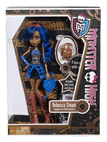 Monster High Robecca Steam Doll 4
