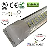 22w 4ft T8 Integrated LED Tube Light - Natural White (Day Light) - 4 Unit Pack