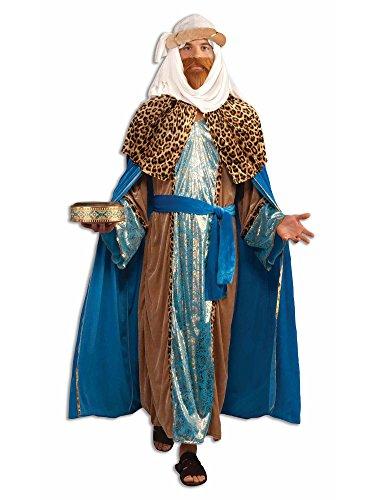 Forum Novelties Sapphire Nativity Wiseman Costume, Blue, One Size -